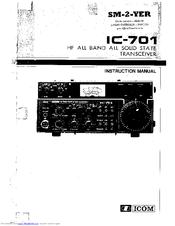 Icom IC-701 Manuals