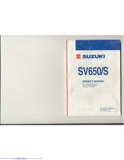 suzuki sv650 manuals rh manualslib com 2006 SV650 SV650 2018