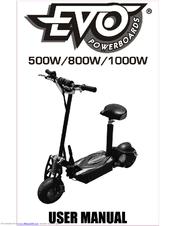 evo powerboards 1000w user manual