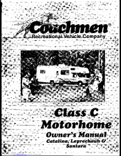 COACHMEN RV LEPRECHAUN OWNER'S MANUAL Pdf Download