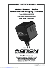 Orion PARSEC 8300M Manuals