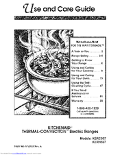 KitchenAid KERC507 Manual
