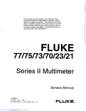 fluke 23 manuals rh manualslib com fluke 23 multimeter user manual fluke 23 iii manual
