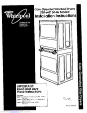 whirlpool microwave installation instructions
