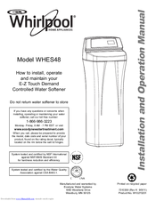 Whirlpool WHES48 Installation & Operation Manual