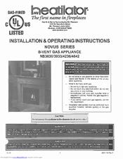 heatilator nb3933 manuals heatilator nb3933 installation operating instructions manual