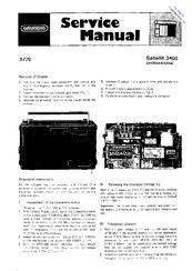 grundig satellit 3400 professional manuals rh manualslib com grundig s350dl owners manual Eton Grundig S350