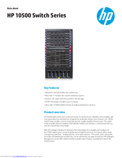 HP 10500 series Specifications