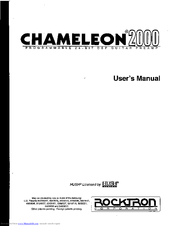 rocktron chameleon 2000 manuals rh manualslib com rocktron chameleon online manual rocktron chameleon 2000 manual