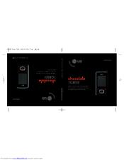 lg chocolate tg800f manuals rh manualslib com Motorola SLVR Motorola SLVR