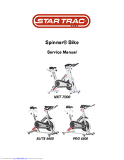 Seat adjustments, nstructions for   star trac spinner user manual.