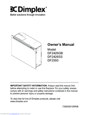 dimplex df2550 manuals dimplex df2550 owner s manual