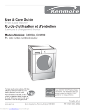 Kenmore C4909 Use & Care Manual