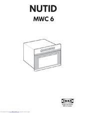 ikea nutid mwc 6 installation manual pdf download rh manualslib com ikea nutid oven electrical specs ikea nutid microwave oven manual