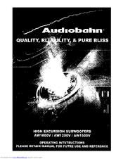 audiobahn aw1500v manuals rh manualslib com Audiobahn A2150hct 12 in Audiobahn Dual Coil Speaker Wiring