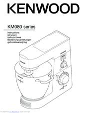 kenwood km080 series manuals rh manualslib com kenwood chef titanium user manual kenwood cooking chef instruction manual