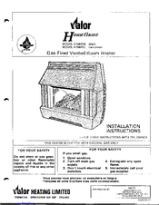 valor homeflame 475mnb manuals rh manualslib com valor homeflame super instructions