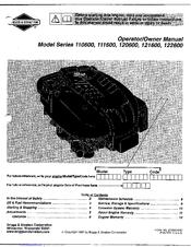 briggs and stratton maintenance manual