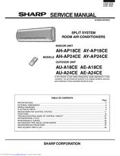 sharp ae a24ce manuals rh manualslib com