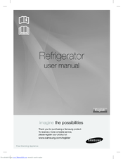 Samsung Refrigerator User Manual
