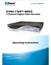 Swann DVR4-1160 Manuals