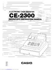 Casio ce-2350 service manual pdf download.