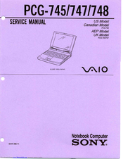 sony vaio pcg 748 service manual pdf download rh manualslib com sony vaio pcg 61211m service manual sony vaio pcg-71811m service manual