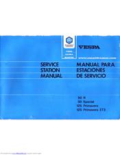 Vespa 125 Primavera Et3 Manuals