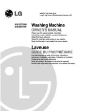 Lg Wm2277hw Owner S Manual Pdf Download Manualslib