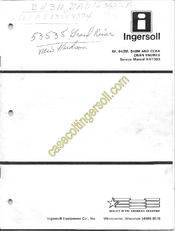 Onan B48M Manuals