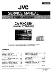 jvc ca mxc5bk manuals rh manualslib com