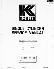 kohler k301 manuals rh manualslib com kohler k301 engine repair manual kohler k301 service manual pdf