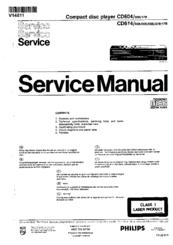philips cd604 service manual pdf download rh manualslib com service manual cp3250 service manual downloads