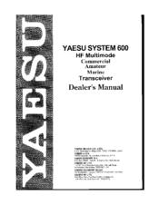 yaesu ft 600 manuals rh manualslib com Yaesu FT- 60 Yaesu FT- 840
