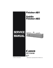 Canon Finisher-AB1 Service Manual