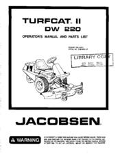 jacobsen turfcat ii dw 220 manuals rh manualslib com jacobsen turfcat t423d manual jacobsen turfcat 528d manual