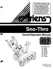 ariens 100 st824 manuals rh manualslib com ariens st824 owners manual ariens st824 owners manual