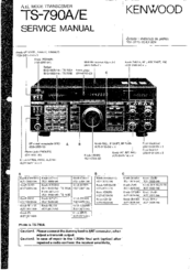 KENWOOD TS-790E SERVICE MANUAL Pdf Download