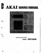 akai mpc3000 service manual pdf download rh manualslib com akai mpc x manual akai mpc 2000 manual pdf