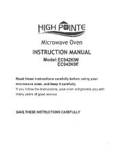 High Pointe Ec942k9e Manuals