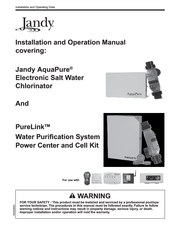 Jandy PureLink Installation And Operation Manual