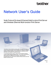 Brother DCP-8150DN Network User's Manual