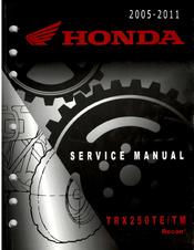honda trx250te service manual pdf download rh manualslib com 2002 Honda Rubicon 2002 Honda Recon