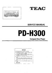 Teac PD-H300 Manuals