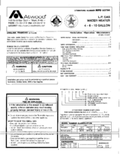 atwood g6a 8e manuals. Black Bedroom Furniture Sets. Home Design Ideas