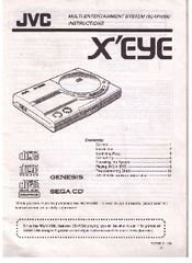 JVC X'EYE Instructions Manual
