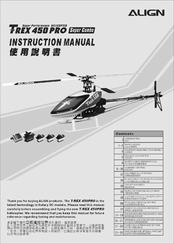 Align t-rex 450pro instruction manual pdf download.