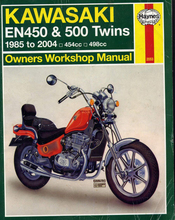 Kawasaki EN450 Twins Workshop Manual