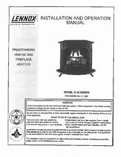 Lennox CI 30 series Manuals