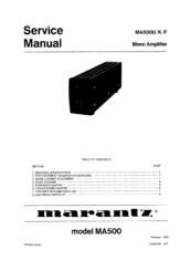 marantz ma500 service manual pdf download rh manualslib com Marantz PM7000 Marantz MM7055